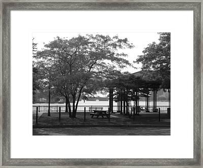The Pavilion Framed Print by Nancy Ferrier