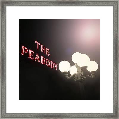 The Peabody Memphis  Framed Print