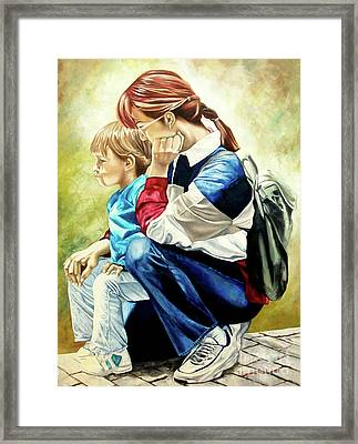 The Peace - La Paz Framed Print