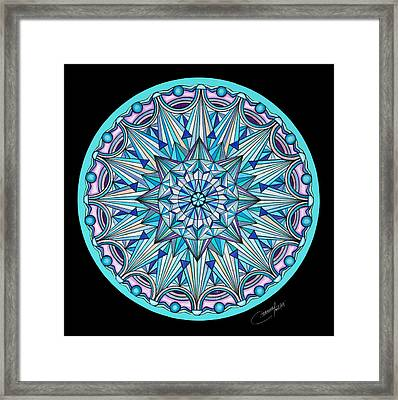 The Peace Within Framed Print by Marcia Lupo