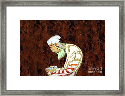 The Peaceful Man Framed Print by David Lee Thompson