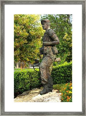 The Peacekeeper Framed Print by Angela Comperry