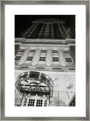 The Peachtree Framed Print