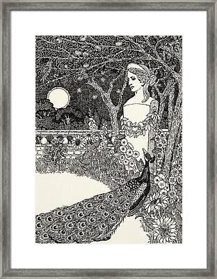 The Peacock's Complaint Framed Print