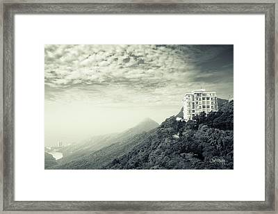 The Peak Framed Print by Joseph Westrupp