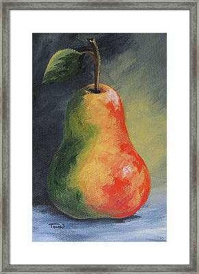 The Pear Chronicles 005 Framed Print