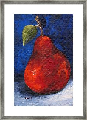 The Pear Chronicles 007 Framed Print by Torrie Smiley