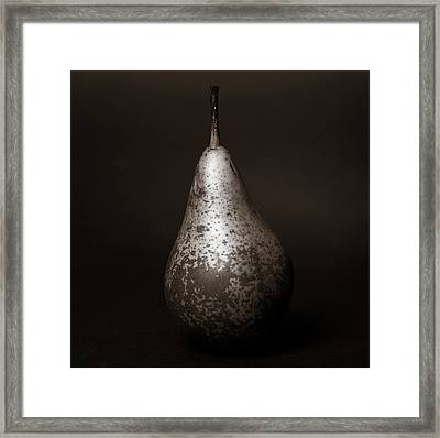 The Pear Framed Print by Lisbet Svensson Schau