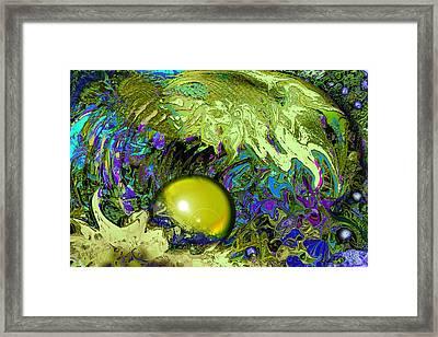 The Pearl Framed Print by Anne Weirich