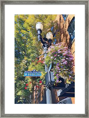 The Pearl District Framed Print by Karyn Robinson