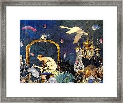 The Pearl Of Great Price Framed Print