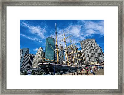 The Peking Framed Print by June Marie Sobrito
