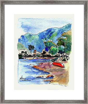 The Peloponnese Framed Print