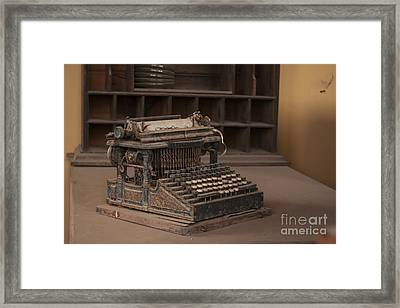 The Pen More Powerful Than The Sword Framed Print by Jennifer Apffel