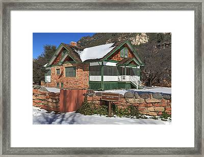 The Pendley Homestead Framed Print by Donna Kennedy