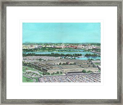 The Pentagon Framed Print