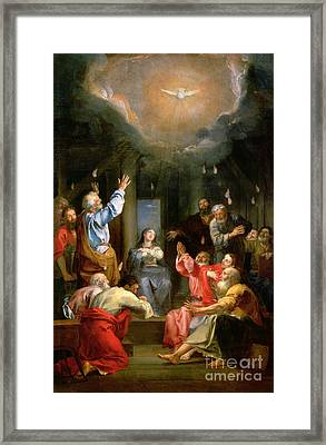 The Pentecost Framed Print
