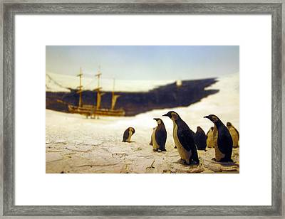 The People Are Coming Framed Print by Jez C Self