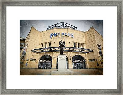 The Peoples Gate - Pnc Park #2 Framed Print