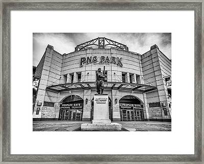 The Peoples Gate - Pnc Park #3 Framed Print