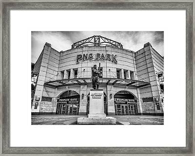 The Peoples Gate - Pnc Park #3 Framed Print