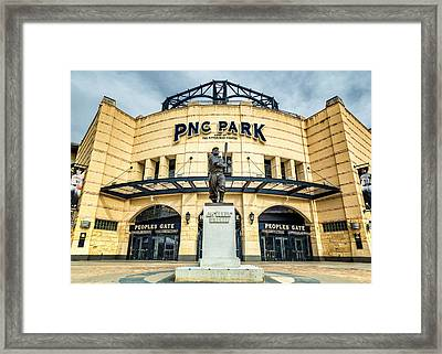 The Peoples Gate - Pnc Park #4 Framed Print