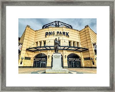 The Peoples Gate - Pnc Park #4 Framed Print