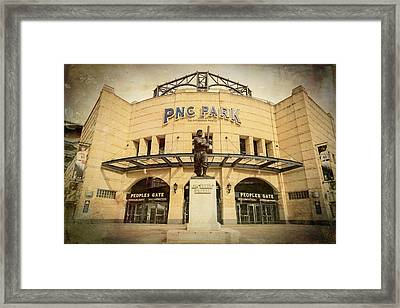 The Peoples Gate - Pnc Park Framed Print