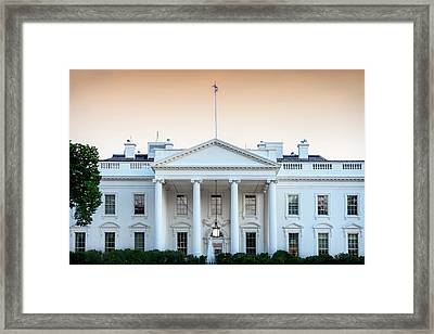 The People's House Framed Print by Andrew Soundarajan