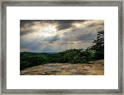 The Peoples Rock Framed Print
