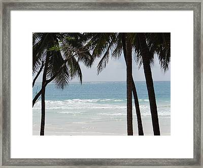 The Perfect Beach Framed Print