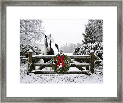 The Perfect Christmas Framed Print by Terry Kirkland Cook