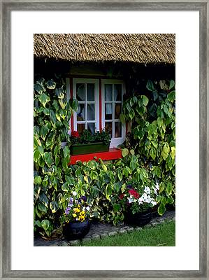 The Perfect Cottage Framed Print