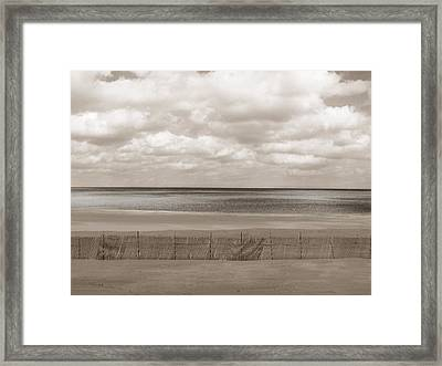 The Perfect Sky Is Torn Framed Print by Dana DiPasquale