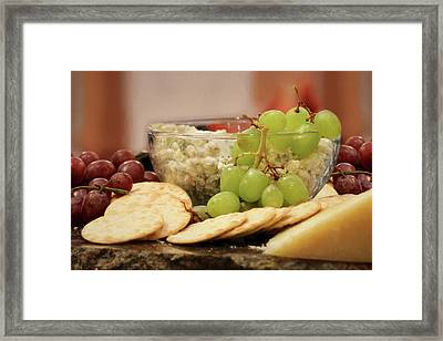 The Perfect Snack Framed Print