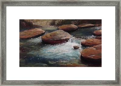 The Perfect Spot Framed Print