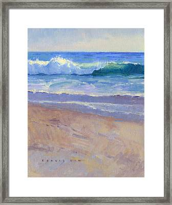 The Healing Pacific Framed Print