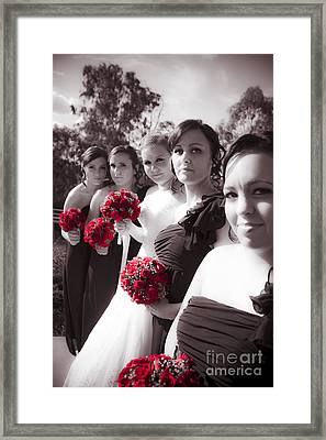 The Perfect Wedding Bouquets Framed Print by Jorgo Photography - Wall Art Gallery
