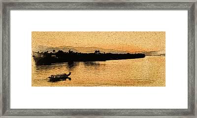 The Perfume River Framed Print