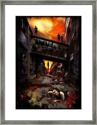 The Perimeter Guard Framed Print by Mandem