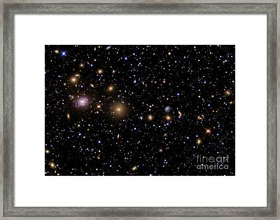 The Perseus Galaxy Cluster Framed Print by R Jay GaBany