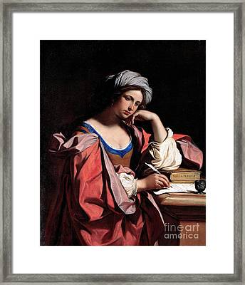 The Persian Sibyl Framed Print by Pg Reproductions