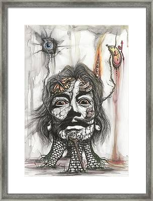 The Persistence Of Dali Framed Print