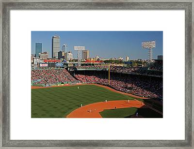 The Pesky Pole Framed Print by Juergen Roth