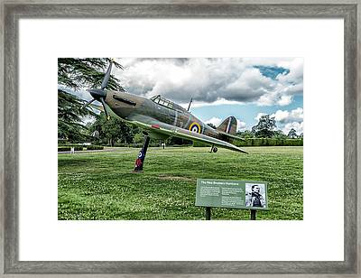 Framed Print featuring the photograph The Pete Brothers Hurricane by Alan Toepfer