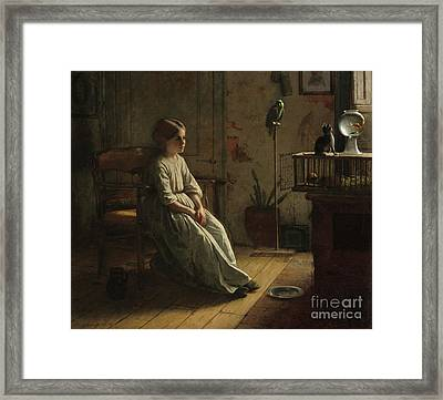 The Pets Framed Print