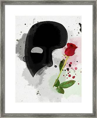 The Phantom Of The Opera Framed Print