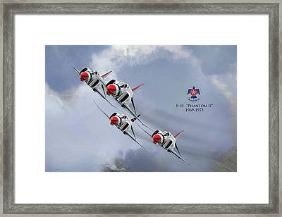 The Phantom Years Framed Print by Peter Chilelli