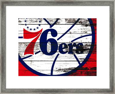 The Philadelphia 76ers 3e       Framed Print by Brian Reaves
