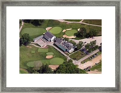 The Philadelphia Cricket Club Wissahickon Clubhouse Framed Print